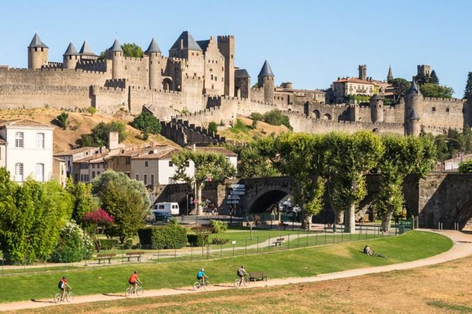 Ein ganz besonderes Ausflugsziel ist die mittelalterliche Festungsanlage Carcassonne. Hier kann man radeln, wandern, die Festungsanlage bestaunen und vieles mehr... (#5)