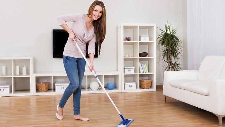 Die meisten Personen kennen das Phänomen: Sobald man mit dem Putzen der Wohnung fertig ist, kann wieder von vorne begonnen werden - und wer will, findet fast immer etwas zum Putzen. (#03)