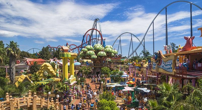 In Vila-seca liegt der moderne und aufregende Freizeitpark Port Aventura.