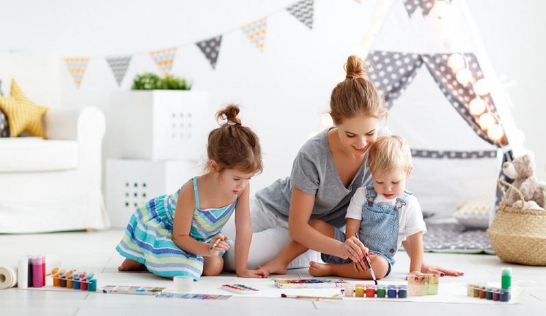 Wichtigste Voraussetzung für ein Spielzimmer ist, dass überhaupt ein separater Raum in der Wohnung vorhanden ist, der dafür genutzt werden kann.