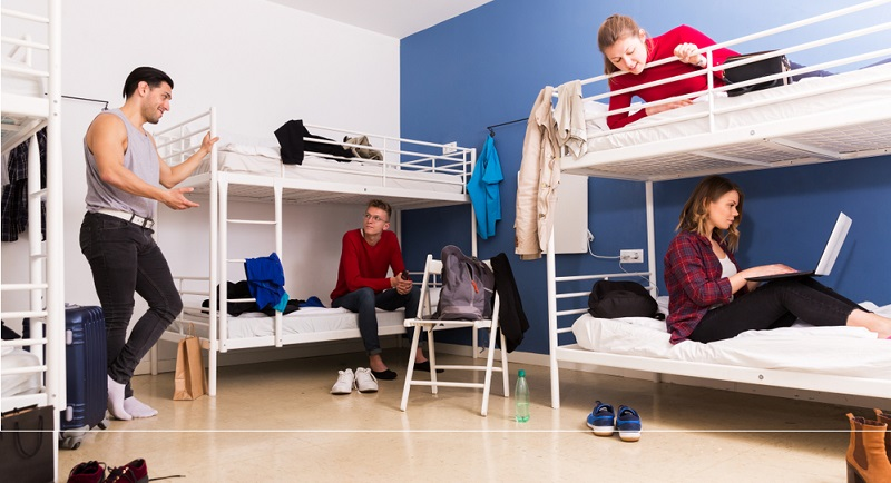 Urlaub in der Jugendherberge macht auch mit größeren Kindern Spaß.