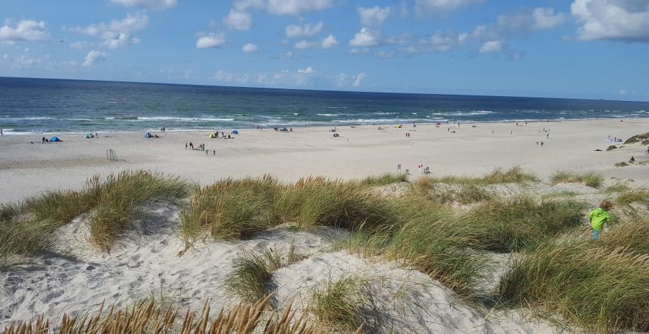 Wer mit Kindern nach Dänemark fährt, wird in Henne Strand einen höchst angenehmen Urlaub verbringen. (Foto: shutterstock - Tiberian1986)